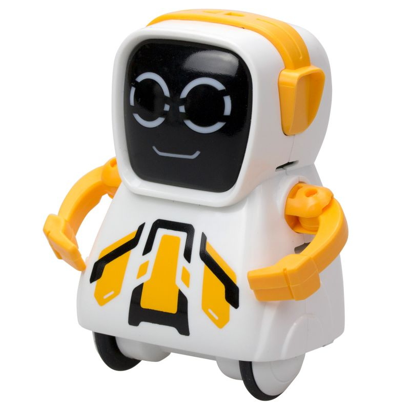 Купить Робот Покибот, белый с желтым, квадратный, Silverlit