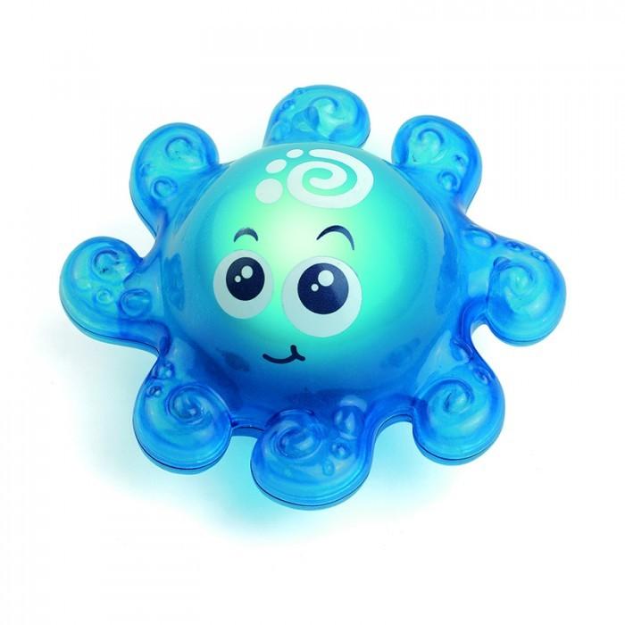 Игрушка детская для ванной – Осьминожек, со световым эффектомИгрушки для ванной<br>Игрушка детская для ванной – Осьминожек, со световым эффектом<br>