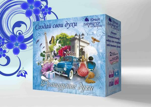Набор Юный парфюмер  Французские духи - Юный парфюмер, артикул: 126347