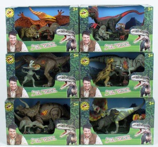 Набор фигурок «Динозавры»Жизнь динозавров (Prehistoric)<br>Набор фигурок «Динозавры»<br>