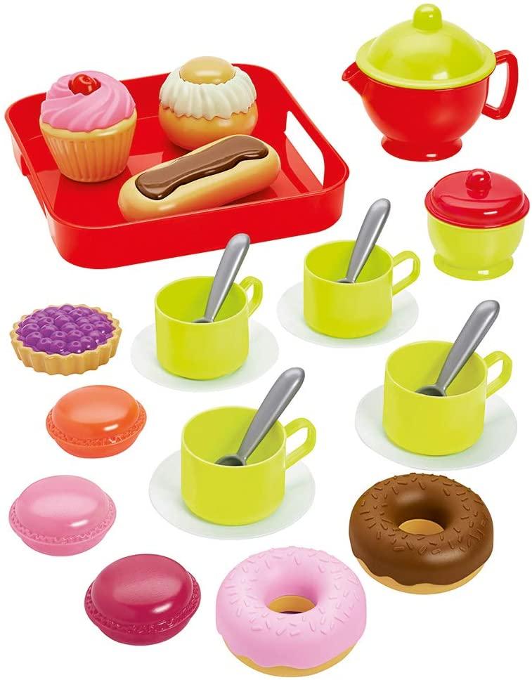 Детский чайный набор с выпечкой