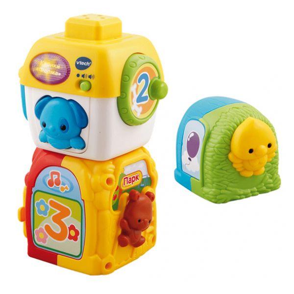 Развивающая игрушка – кубики «Ферма», со светом, озвученные - Кубики, артикул: 124565