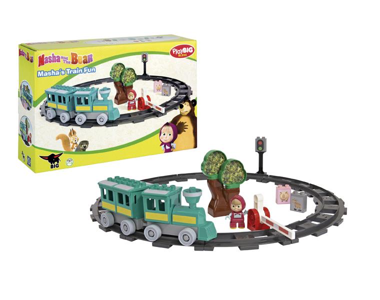 Конструктор Маша и Медведь - Железная дорогаМаша и медведь игрушки<br>Конструктор Маша и Медведь - Железная дорога<br>