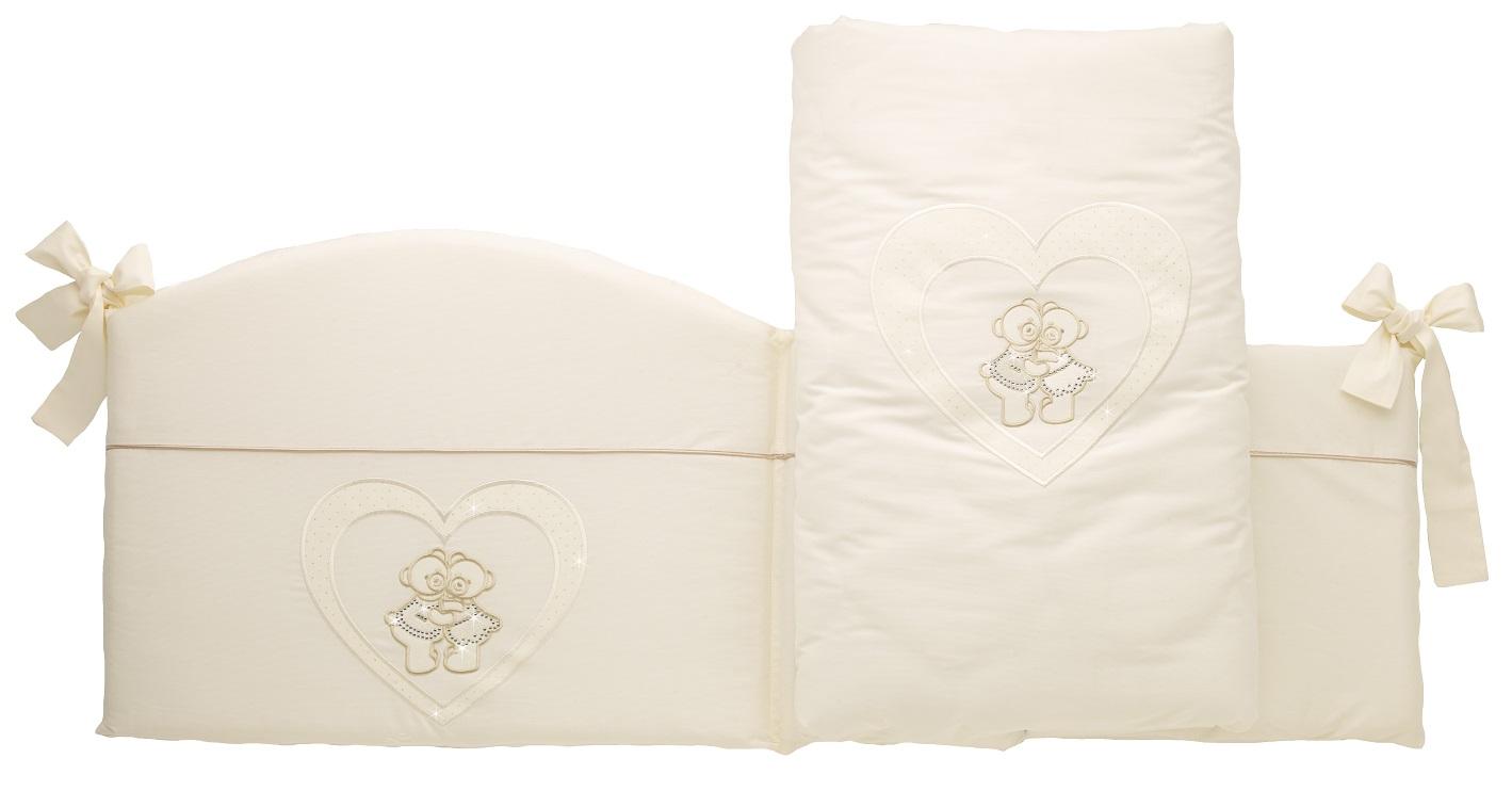Бампер в кроватку bumper ChatonДетское постельное белье<br>Бампер в кроватку bumper Chaton<br>