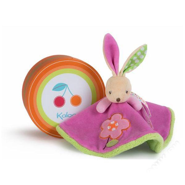 Мягкая игрушка-комфортер - Заяц Цветочек из серии - ЦветаЗайцы и кролики<br>Мягкая игрушка-комфортер - Заяц Цветочек из серии - Цвета<br>