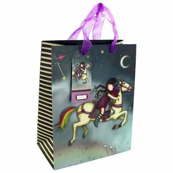 Купить Подарочная сумка – The Runaway, средняя, Santoro London