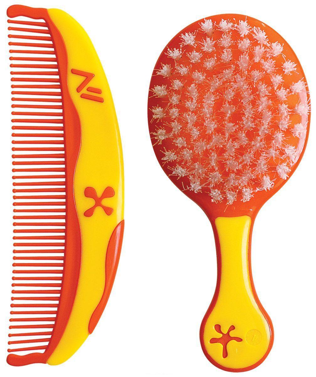 Набор для детей – Звездочки, расческа и щеткапредметы гигиены<br>Набор для детей – Звездочки, расческа и щетка<br>