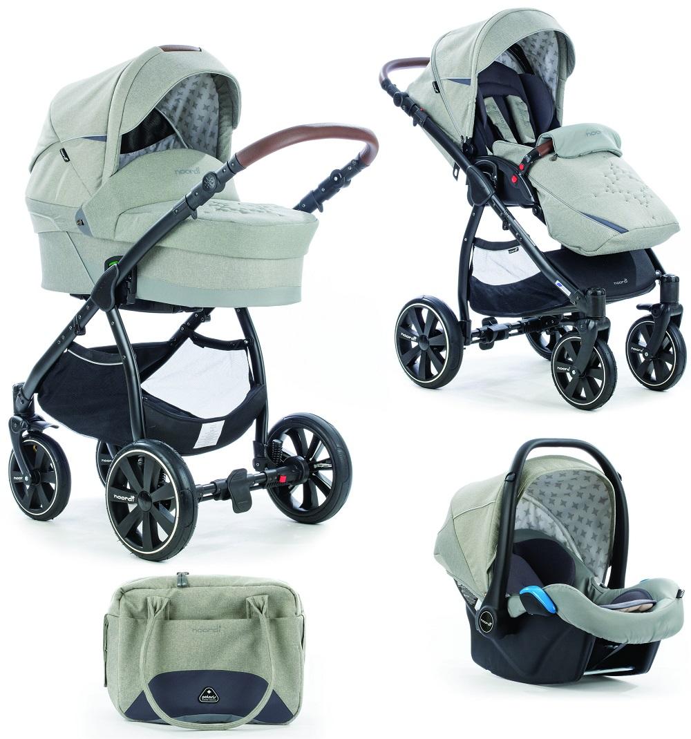 Коляска детская Noordi Polaris Comfort 3 в 1, цвет - Moon MistДетские коляски 3 в 1<br>Коляска детская Noordi Polaris Comfort 3 в 1, цвет - Moon Mist<br>