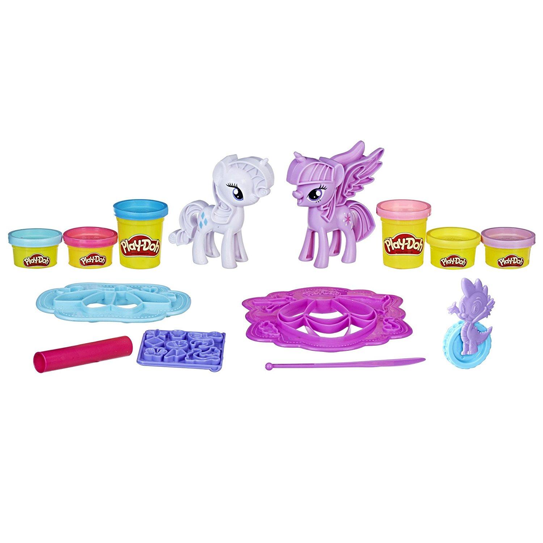Игровой набор Play Doh - Твайлайт и Рарити