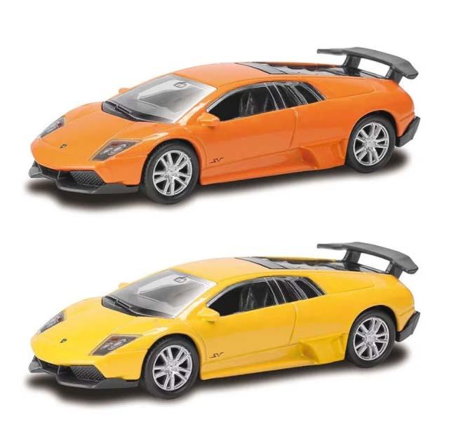 Металлическая машина RMZ City - Lamborghini Murcielago, 1:64, 2 цветаLamborghini<br>Металлическая машина RMZ City - Lamborghini Murcielago, 1:64, 2 цвета<br>