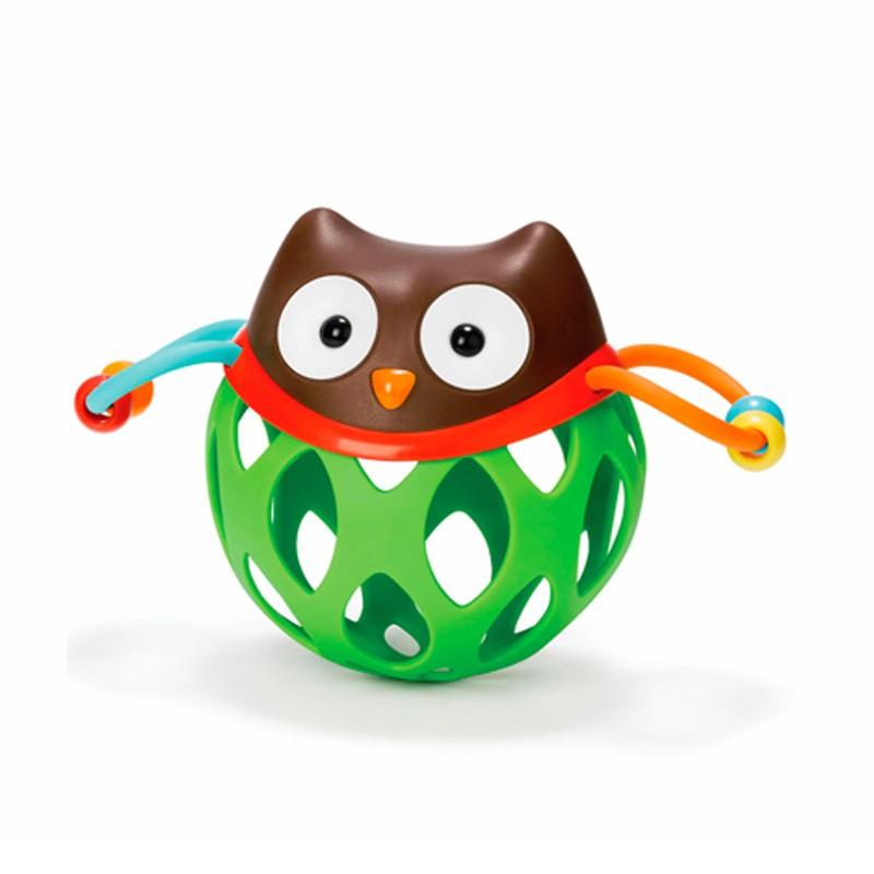 Игрушка-погремушка Шар СоваДетские погремушки и подвесные игрушки на кроватку<br>Игрушка-погремушка Шар Сова<br>