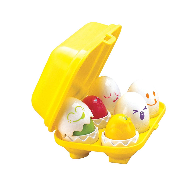 Развивающая игрушка-сортер Веселые ЯйцаСортеры, пирамидки<br>Развивающая игрушка-сортер Веселые Яйца<br>