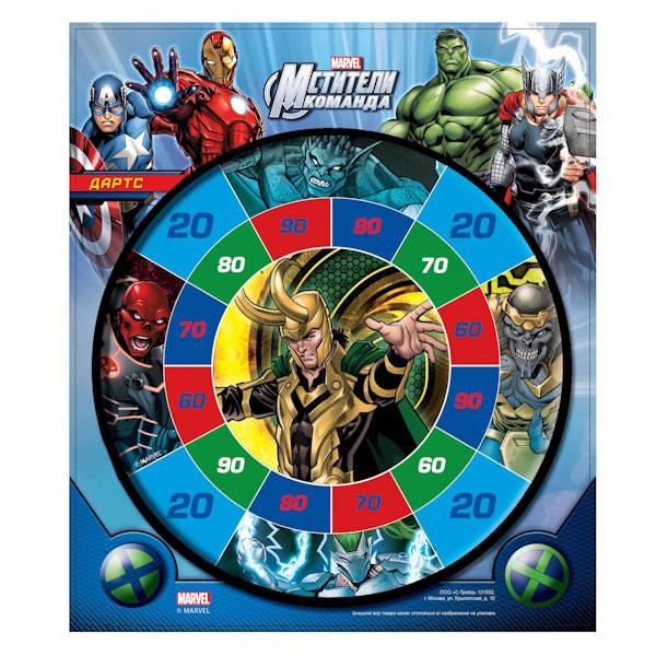 Набор для игры в дартс Marvel – МстителиАрбалеты и Дартс<br>Набор для игры в дартс Marvel – Мстители<br>