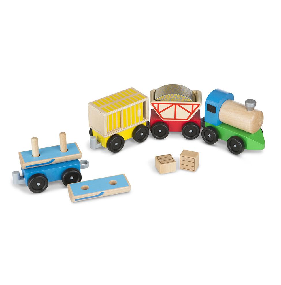 Набор из серии Классические игрушки - Товарный поездЖелезная дорога для малышей<br>Набор из серии Классические игрушки - Товарный поезд<br>