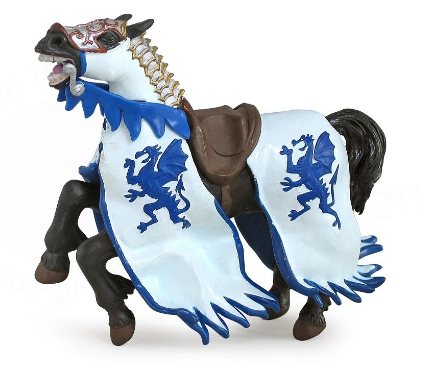 Конь короля драконов синийФигурки Papo<br>Конь короля драконов синий<br>