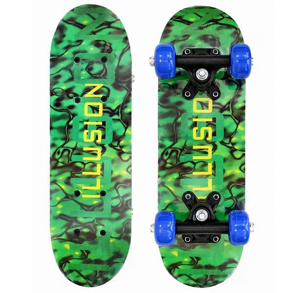 89764 Скейтборд - Illusion, малахитДетские скейтборды<br>89764 Скейтборд - Illusion, малахит<br>