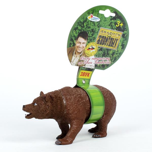 Фигурка медведя, озвученнаяДикая природа (Wildlife)<br>Фигурка медведя, озвученная<br>
