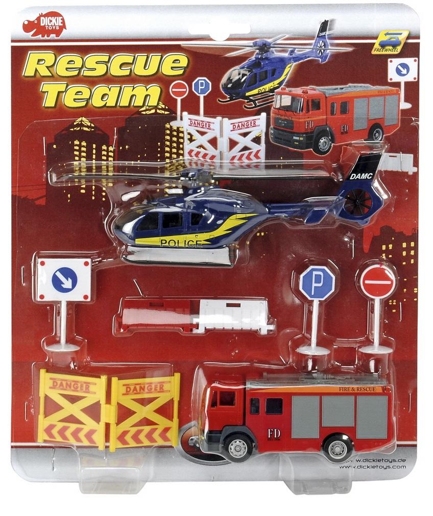 Игровой набор - Спасательная командаСамолеты, службы спасения<br>Игровой набор - Спасательная команда<br>