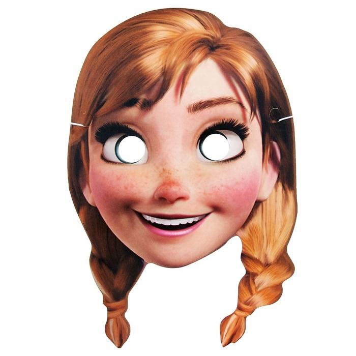 Маска картонная «Анна»Карнавальные маски и колпаки<br>Маска картонная «Анна»<br>