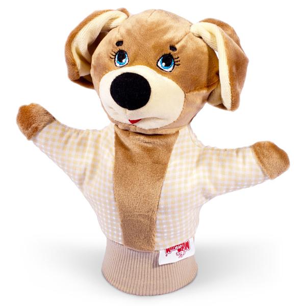 Игрушка рукавичка СобачкаДетский кукольный театр <br>Игрушка рукавичка Собачка<br>