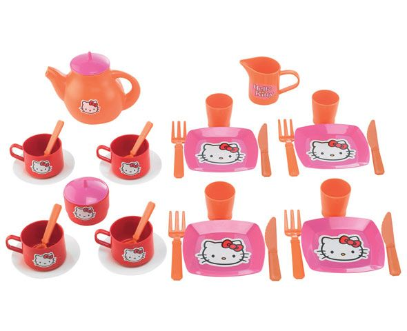 Набор посудки Hello Kitty - Игрушки Hello Kitty, артикул: 7270