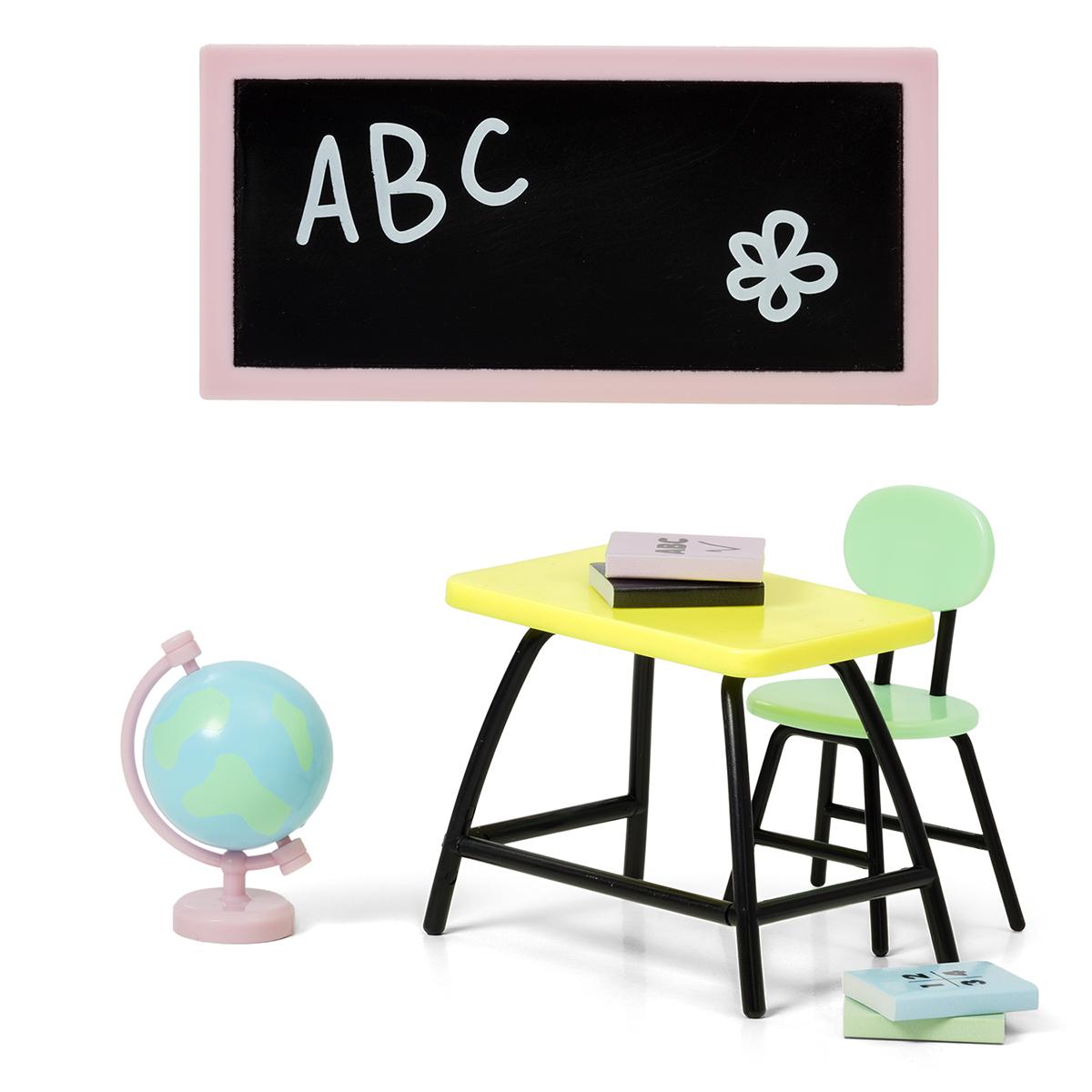 Набор мебели для домика - Школа фото