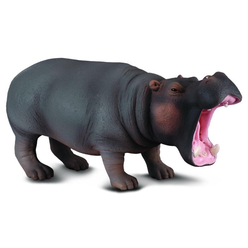 Гиппопотам, XL, 13 смДикая природа (Wildlife)<br>Гиппопотам, XL, 13 см<br>