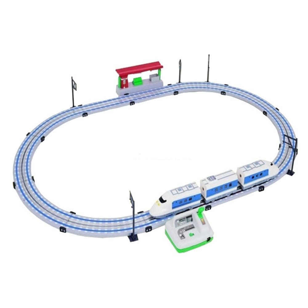 Железная дорога - Скоростной поезд Сапсан, 2,5 м, контроль скорости, 220VДетская железная дорога<br>Железная дорога - Скоростной поезд Сапсан, 2,5 м, контроль скорости, 220V<br>