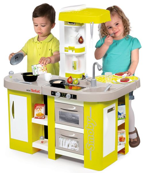 Кухня - Smoby Tefal Studio XL, 36 аксессуаров, звукДетские игровые кухни<br>Кухня - Smoby Tefal Studio XL, 36 аксессуаров, звук<br>