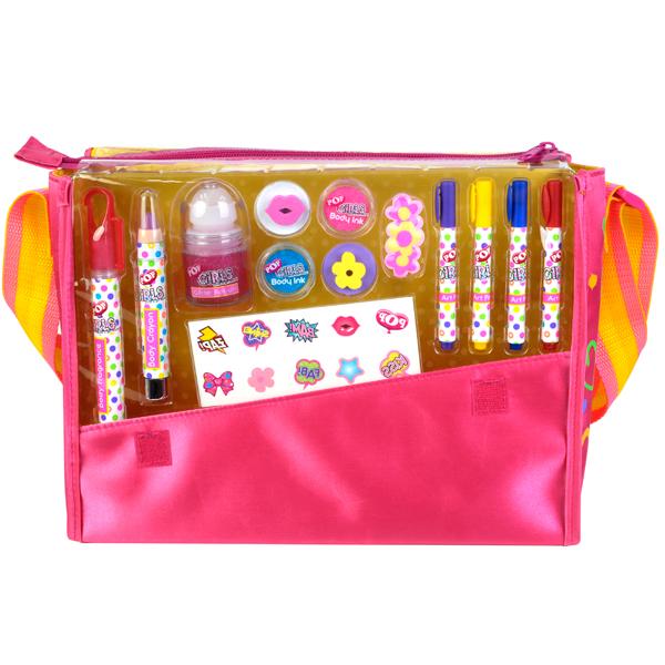Игровой набор детской декоративной косметики в сумке PopЮная модница, салон красоты<br>Игровой набор детской декоративной косметики в сумке Pop<br>