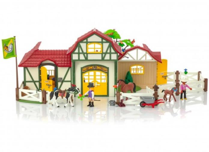 Купить Игровой набор – Ферма: Лошадиная ферма, Playmobil