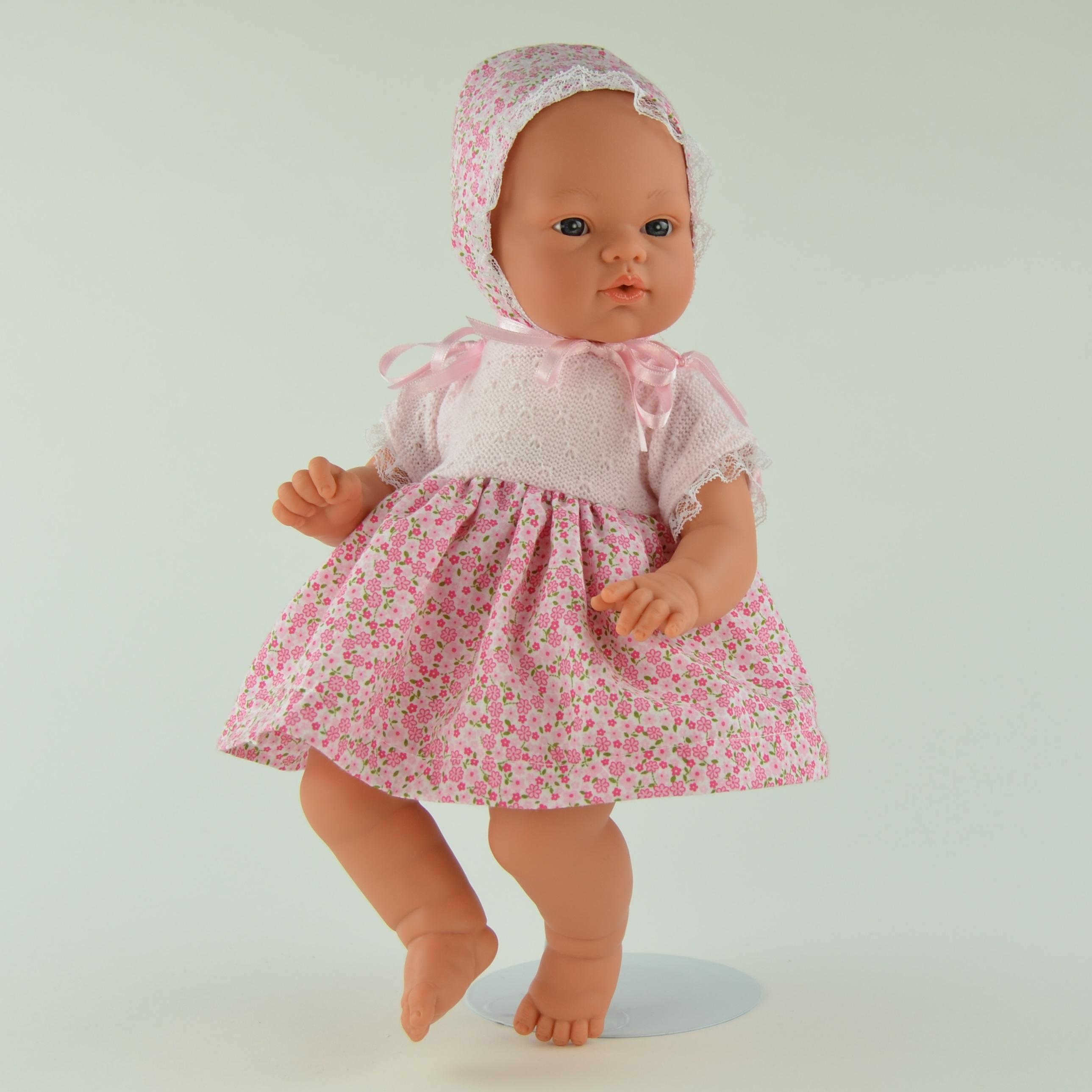 Кукла Коки в розовом платьице, 36 см.Куклы ASI (Испания)<br>Кукла Коки в розовом платьице, 36 см.<br>