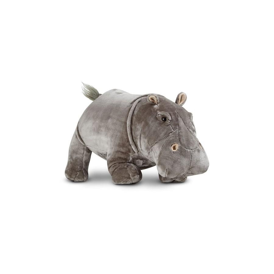 Мягкая игрушка – ГиппопотамДикие животные<br>Мягкая игрушка – Гиппопотам<br>