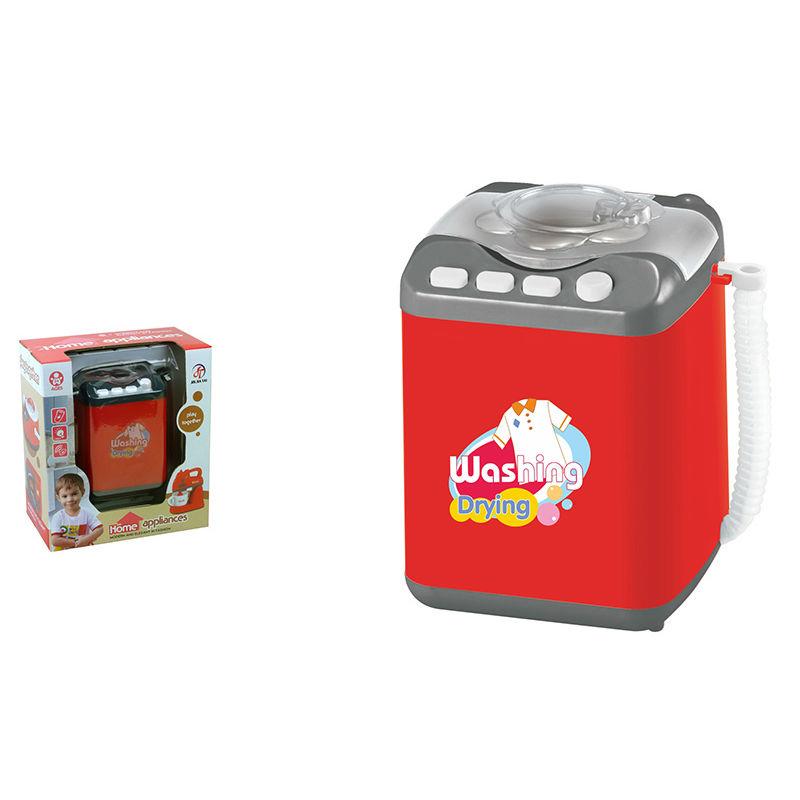Детская стиральная машинка – Помогаю маме, свет и звукАксессуары и техника для детской кухни<br>Детская стиральная машинка – Помогаю маме, свет и звук<br>