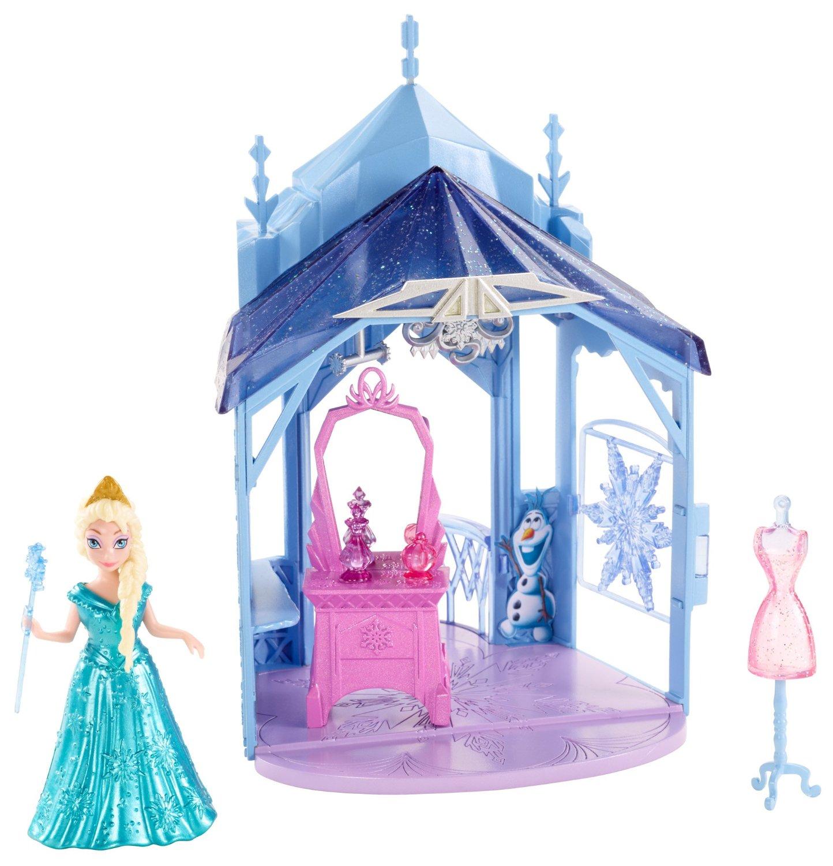 Игровой набор - Дворец Эльзы с мини-куклой, 10 смКуклы холодное сердце<br>Игровой набор - Дворец Эльзы с мини-куклой, 10 см<br>
