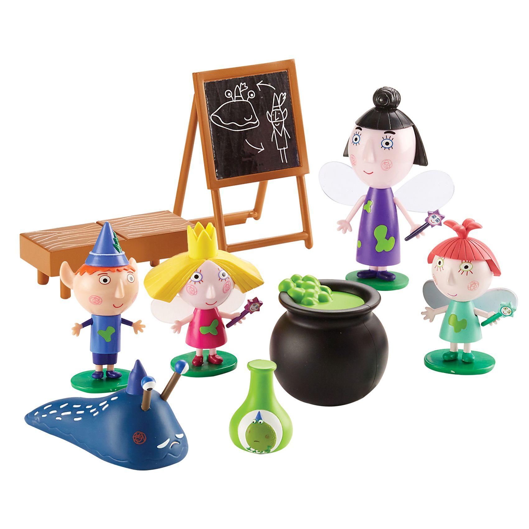 Купить Игровой набор - Школа магии с 5 фигурками из серии Маленькое королевство Бена и Холли, Росмэн