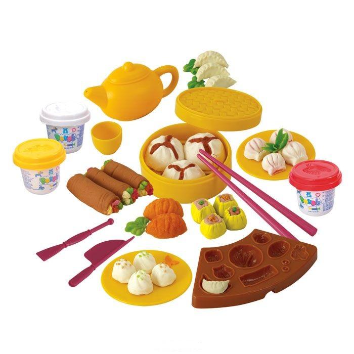 Набор с пластилином - Китайская кухняНаборы для лепки<br>Набор с пластилином - Китайская кухня<br>