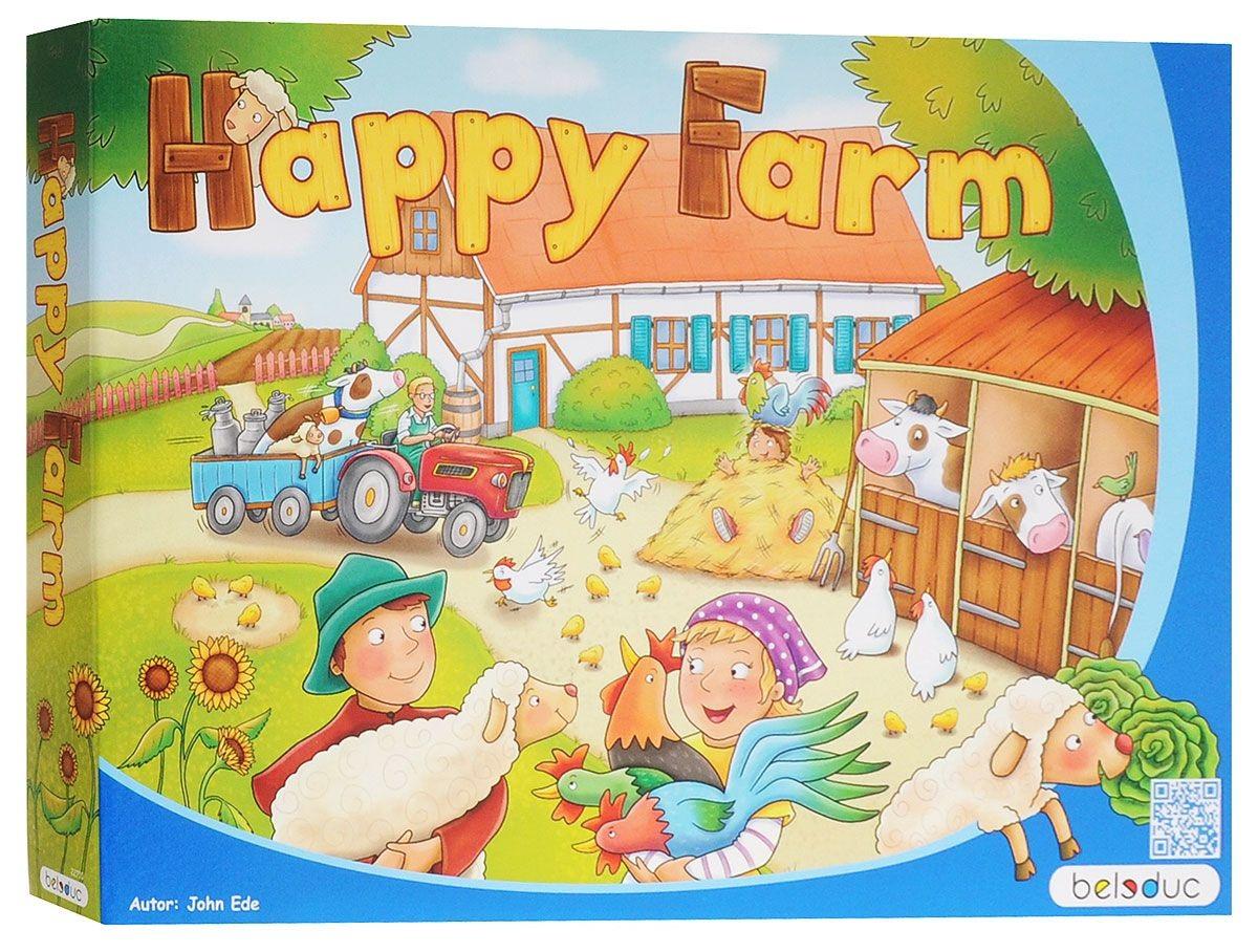 Купить Развивающая игра - Веселая ферма 2, Beleduc