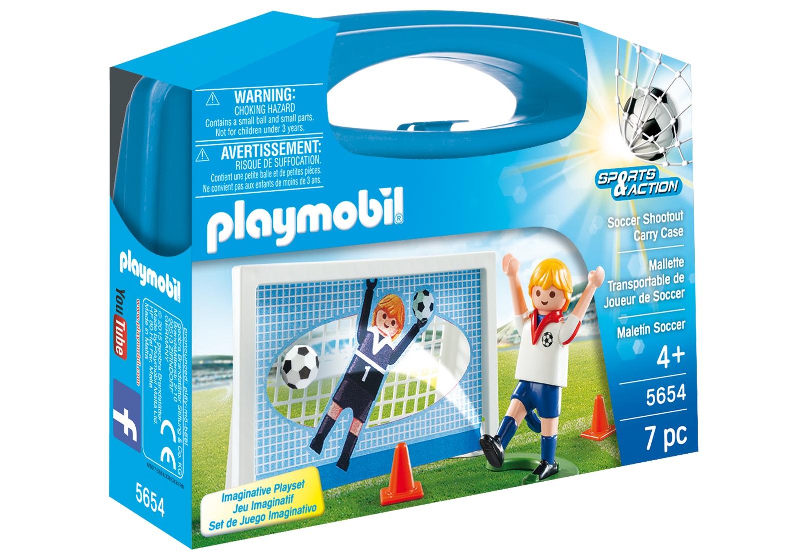 Купить Игровой набор из серии Возьми с собой - Футбол, Playmobil