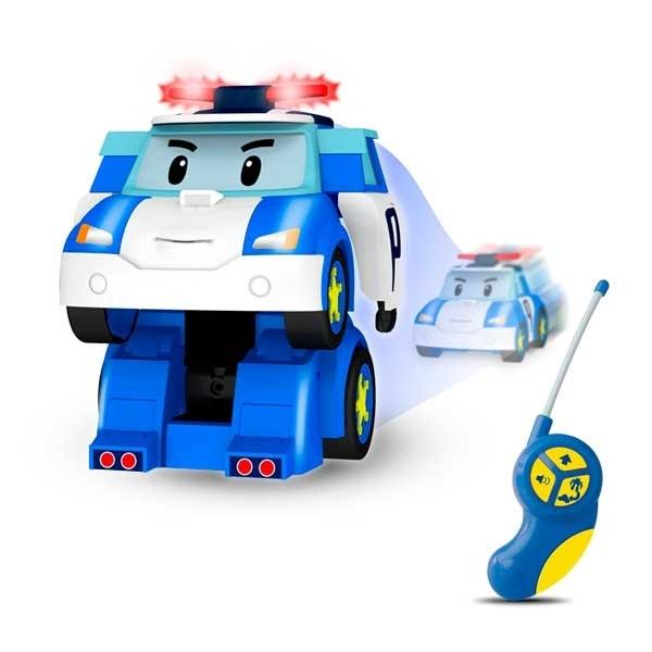 Robocar Poli. Робот Поли трансформер на радиоуправлении. Управляется в форме робота и машины