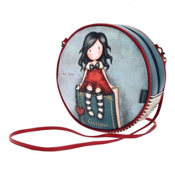 Круглая сумка -  My Story из серии Gorjuss
