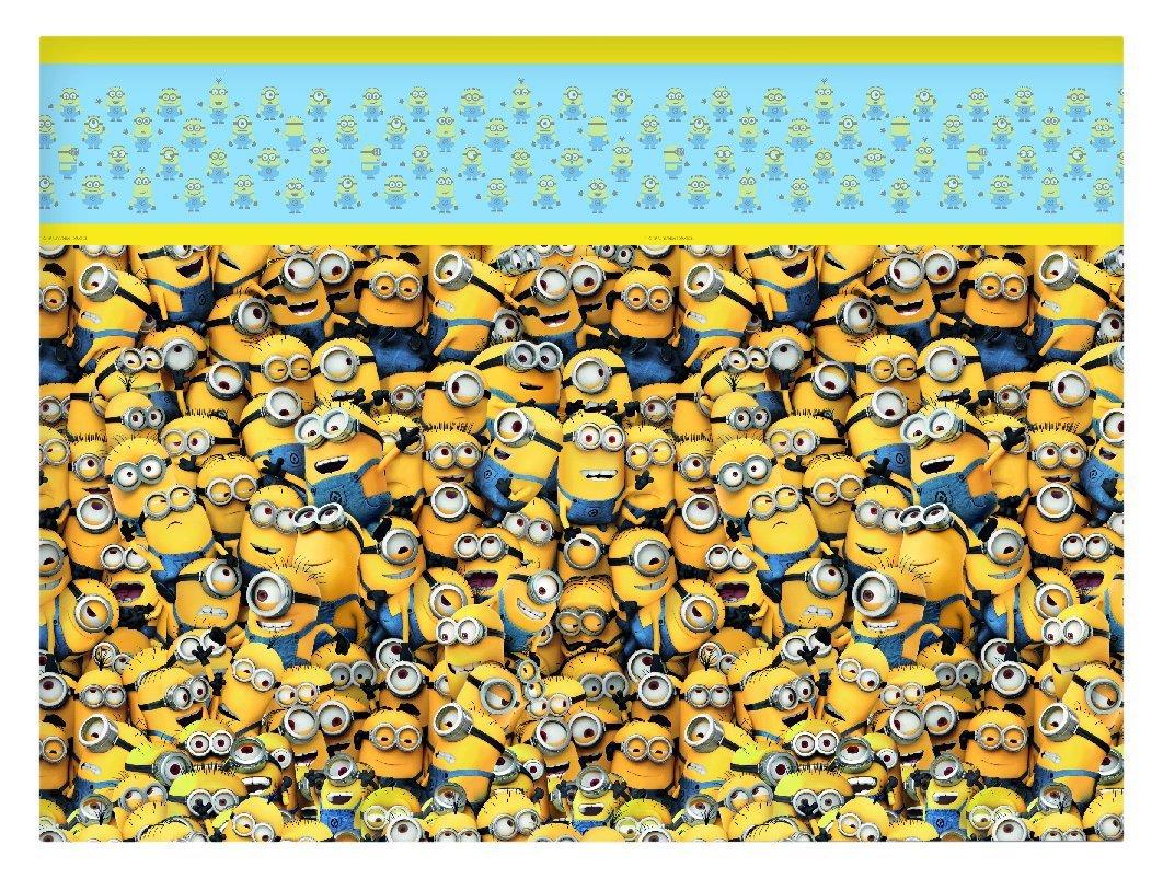 Скатерть одноразовая серия Миньоны, размер 1,2 х 1,8 м.Миньоны (Minions)<br>Скатерть одноразовая серия Миньоны, размер 1,2 х 1,8 м.<br>