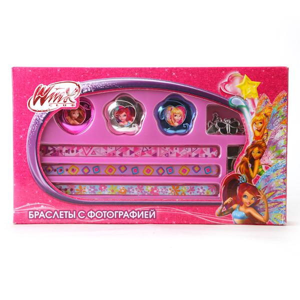 Набор для творчества - браслеты с фотографией «Winx»Аксессуары Winx<br>Набор для творчества - браслеты с фотографией «Winx»<br>