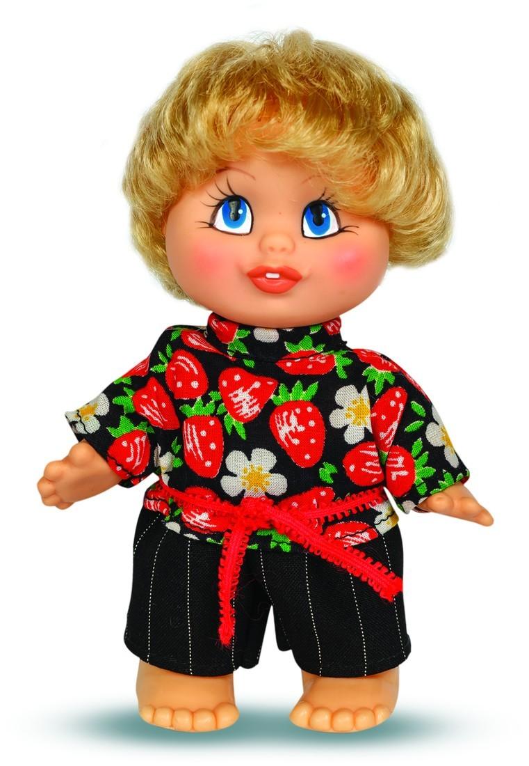 Кукла Женька 10, высотой 16,5 смРусские куклы фабрики Весна<br>Кукла Женька 10, высотой 16,5 см<br>