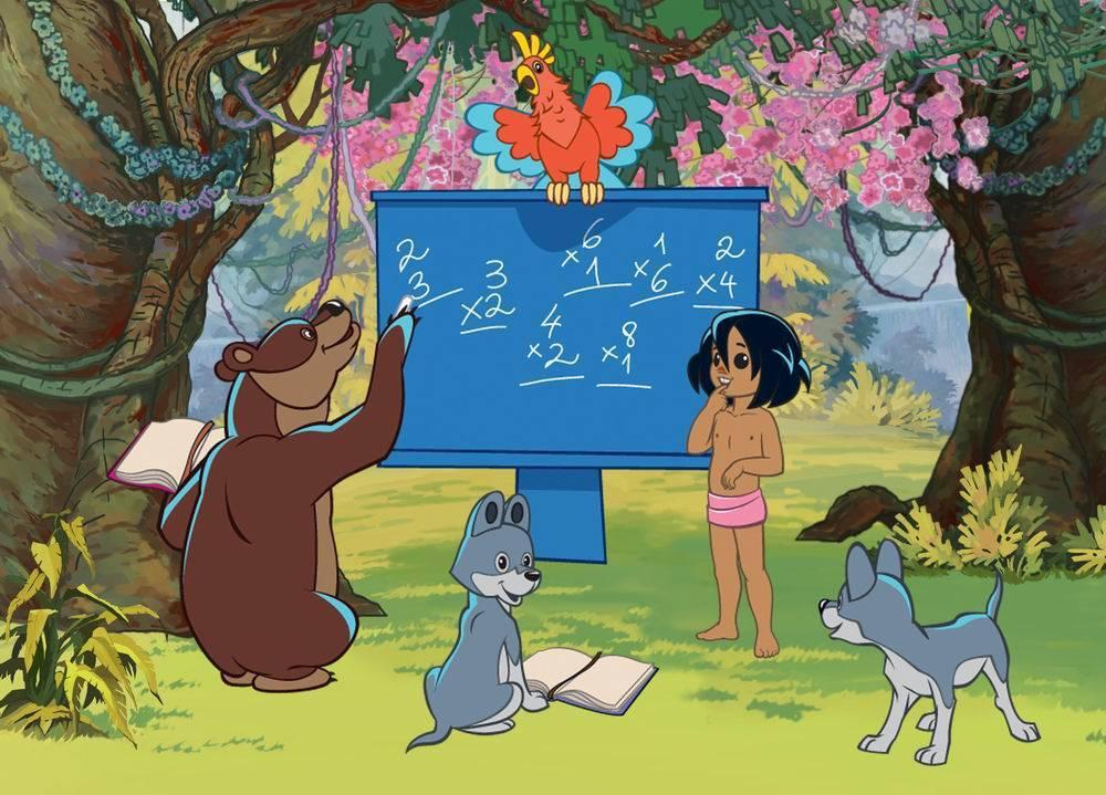 Пазл Castorland 30 деталей Маугли. Лесная школаПазлы<br>Пазл Castorland 30 деталей Маугли. Лесная школа<br>