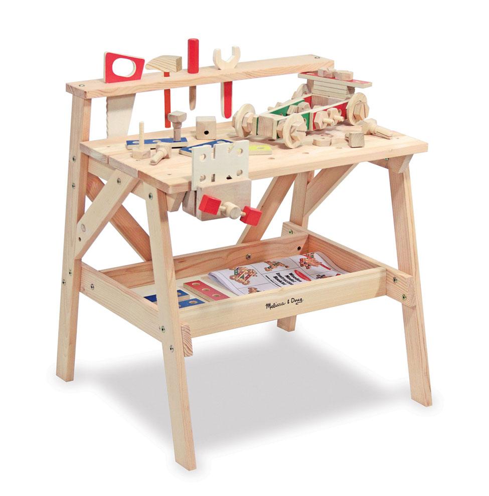Деревянный верстак с аксессуарами - Создай свой мирДетские мастерские, инструменты<br>Деревянный верстак с аксессуарами - Создай свой мир<br>