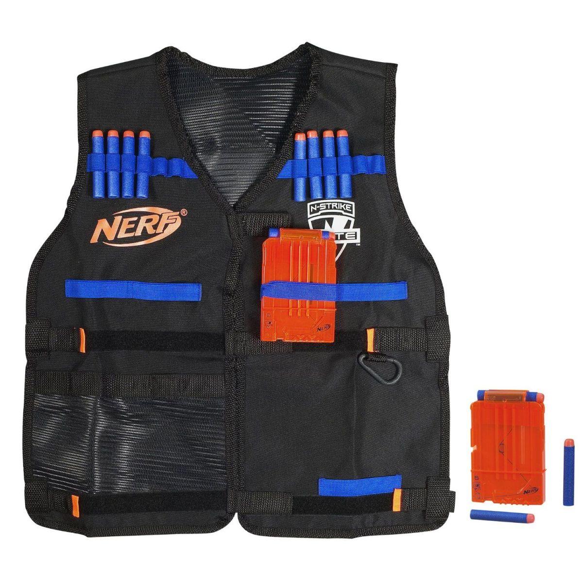 Элит жилет агента со стрелами и обоймами NerfБластеры NERF Hasbro<br>Элит жилет агента со стрелами и обоймами Nerf<br>