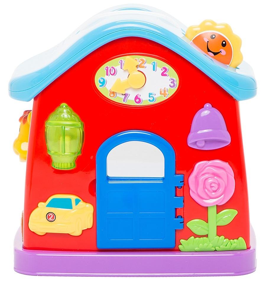 Развивающий игровой центр - Музыкальный домРазвивающие игрушки KIDDIELAND<br>Развивающий игровой центр - Музыкальный дом<br>