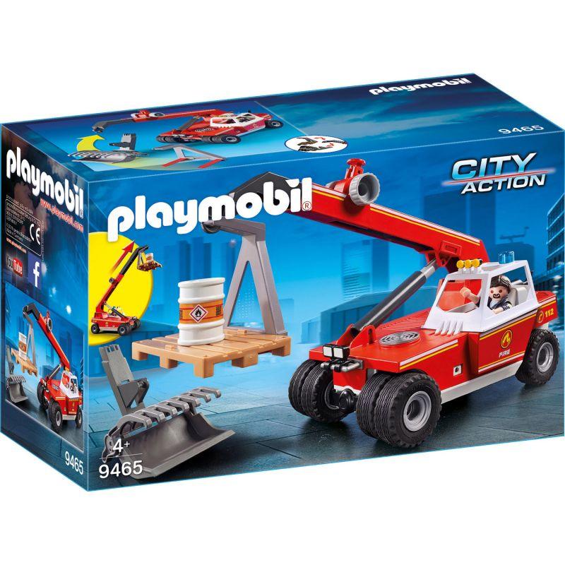 Купить Игровой набор из серии Пожарная служба: Пожарный Кран, новинка 2019, Playmobil