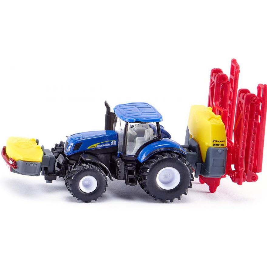 Купить Трактор New Holland с опрыскивателем Kverneland, Siku